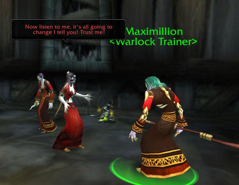 Observer Warlock Pet