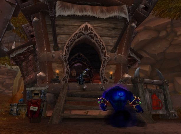 So I'm sitting there chillin' with Hukrath in Orgrimmar when I notice I get a letter in the mail...