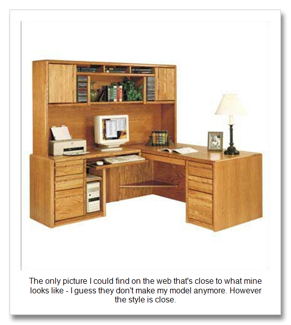 ... Plans For Homemade Computer Desk And Hutch PDF Woodworking Plans